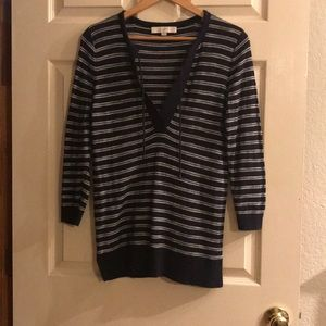 Loft lightweight 3/4 sleeve sweater. Small